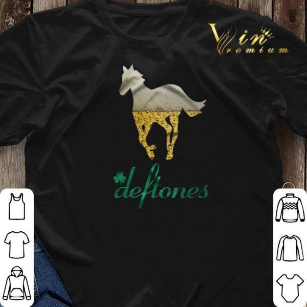 Beer Horse Mashup Deftones St. Patrick's day shirt sweater