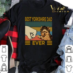 Best Yorkshire Dad Ever Vintage shirt sweater 1
