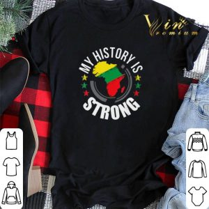 Black History Month African Map Colors shirt sweater 1