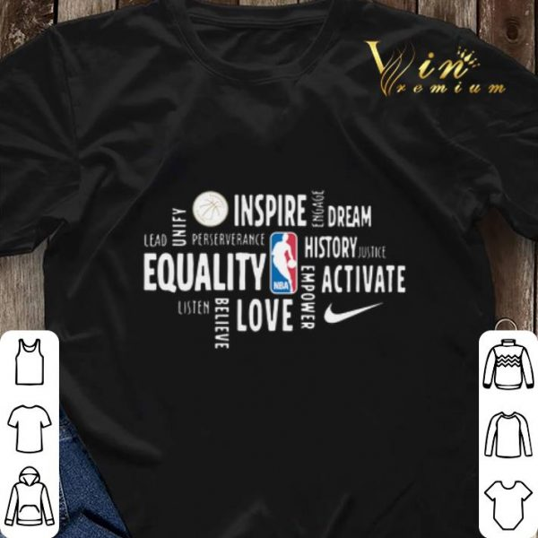 Black History Month Inspire Dream History Equality Activate Love shirt sweater