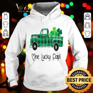 Buffalo Plaid Truck One Lucky Papi St Patricks Day shirt