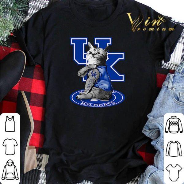 Cat tattoos Kentucky Wildcats shirt sweater
