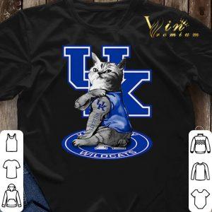 Cat tattoos Kentucky Wildcats shirt sweater 2
