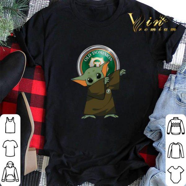 Dabbing Baby Yoda Mashup Old Dominion Freight Line Star Wars shirt sweater