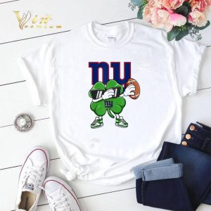 Dabbing Shamrock St. Patrick's Day NewYork Giant shirt sweater 1