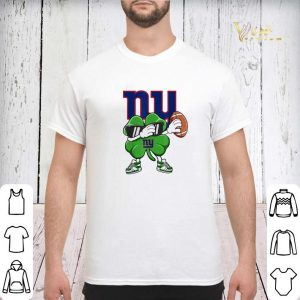 Dabbing Shamrock St. Patrick's Day NewYork Giant shirt sweater 2