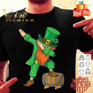 Dabbing St Patricks Day Dabbing Leprechaun shirt