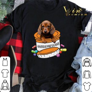 Dachshund Antidepressant Pills shirt sweater