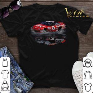 Dale Earnhardt 8 Budweiser 3 Goodwrench reflection water mirror shirt sweater