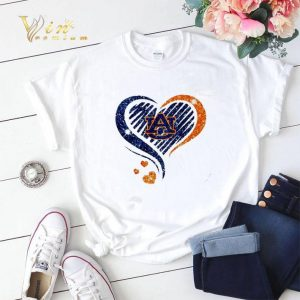 Diamond heart Auburn Tigers Lover shirt sweater
