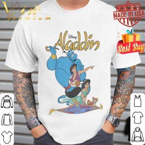 Disney Aladdin Vintage Group Shot Logo shirt
