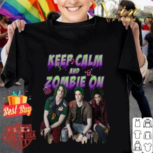 Disney Channel Zombies 2 Keep Calm and Zombie On shirt