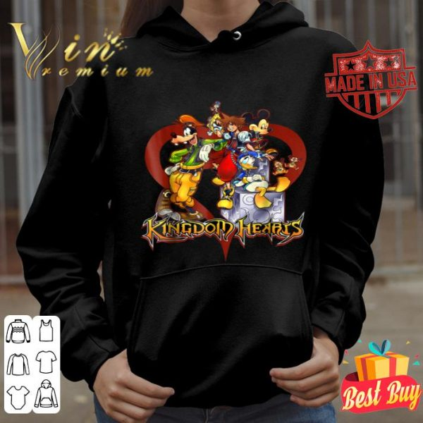 Disney Kingdom Hearts Group Heart shirt