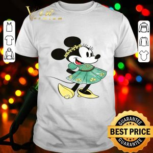 Disney Minnie Mouse Shamrock Dress St. Patrick's Day shirt
