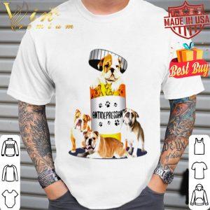 English Bulldog Antidepressant shirt
