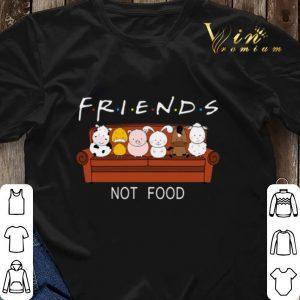 Friends Not Food Dairy Cows Duck Pig Rabbit Horse Sheep shirt sweater 2