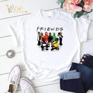 Friends We Are Black Legends Rapper's shirt sweater