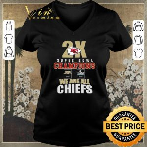 Funny 2X Kansas City Chiefs Super Bowl Champions We Are All Chiefs shirt sweater 1