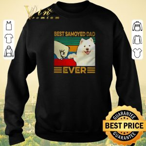 Funny Best Samoyed dad ever vintage shirt sweater 2