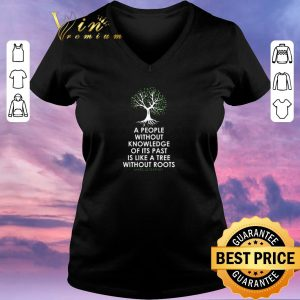 Funny Black History Month Tree Without Root Black Is Beautiful shirt sweater 1