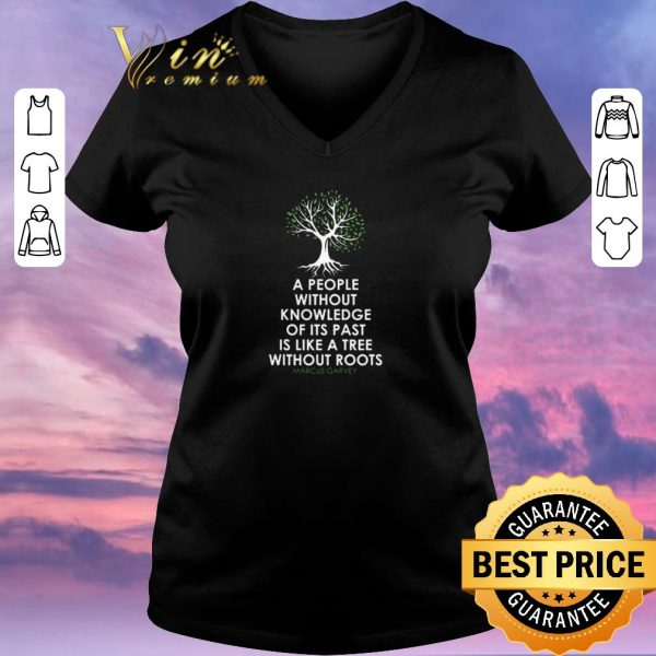 Funny Black History Month Tree Without Root Black Is Beautiful shirt sweater