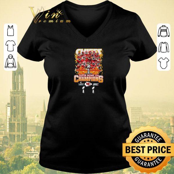Funny Kansas City Chiefs Super Bowl LIV Champs shirt sweater