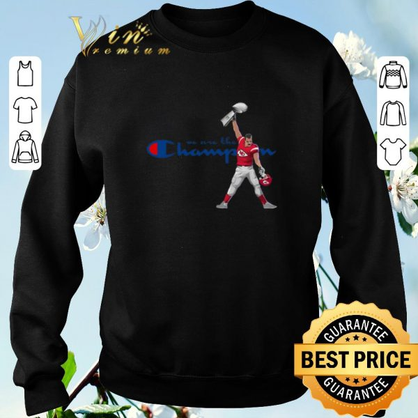 Funny Kansas City Chiefs We Are The Champions freddie mercury shirt sweater