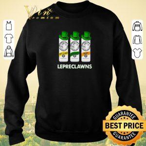Funny Lepreclawns Pot O' Gold Shamrock Lucky St Patrick's Day shirt sweater 2
