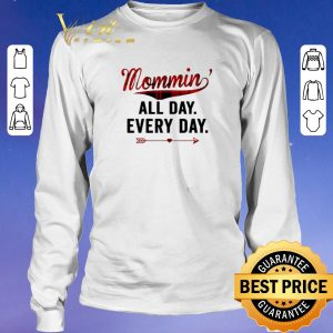 Funny Mommin' All Day Every Day Plaid Version shirt sweater 2