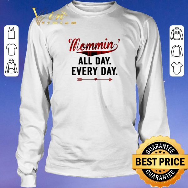 Funny Mommin' All Day Every Day Plaid Version shirt sweater