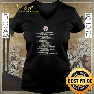 Funny Pittsburgh Steelers Troy Polamalu Jerome Bettis John Stallworth shirt sweater