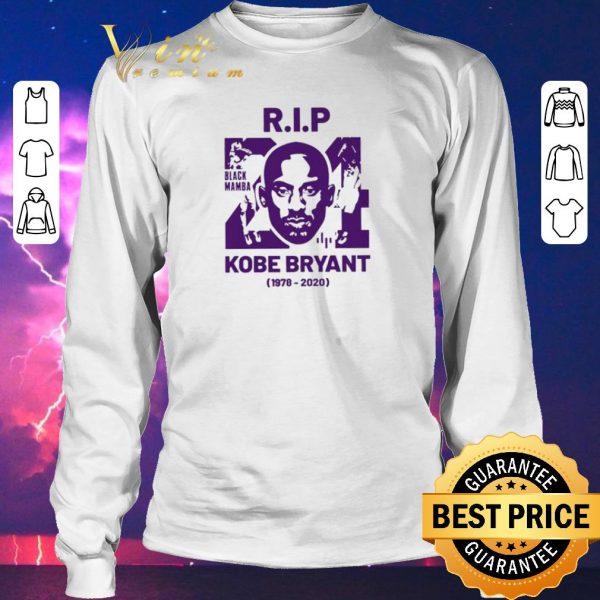 Funny R.I.P 24 KOBE BRYANT 1978 2020 Black Mamba Out shirt sweater