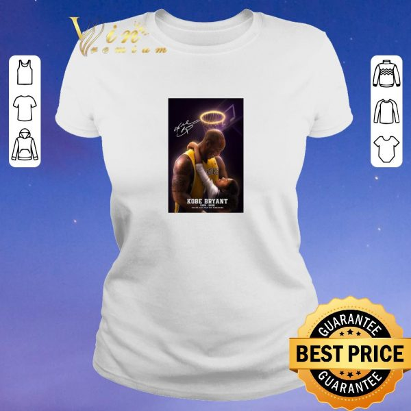 Funny Signed RIP Kobe Bryant 1978 2020 thank you for the memories shirt sweater