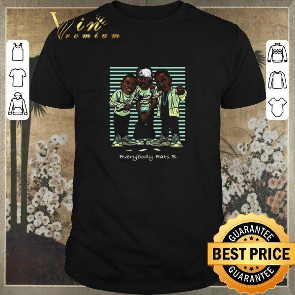 Funny Yeezreel Yeezy 350 Everybody Eats B shirt