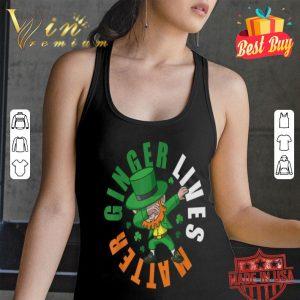 Ginger Lives Matter Dabbing Leprechaun St Patricks shirt