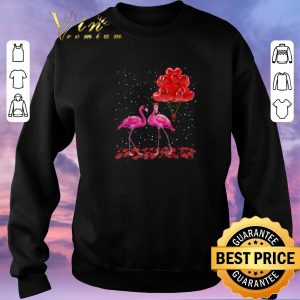Hot Flamingos Valentine Balloon 2020 shirt sweater 2