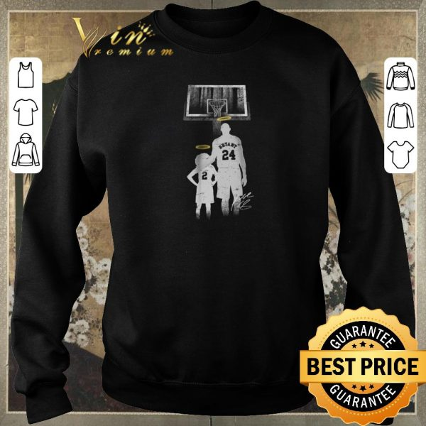 Hot Forever Legends 2 Gianna Bryant 24 Kobe Bryant signature shirt sweater