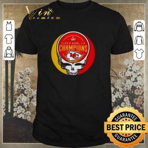 Hot Grateful Dead Mashup Super Bowl LIV Champions Kansas City Chiefs shirt sweater