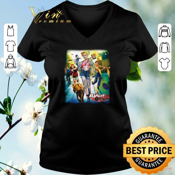 Hot Harley Quinn 2020 Birds Of Prey Poster Signatures shirt sweater