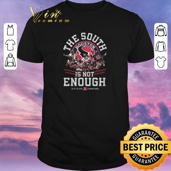 Hot Houston Texas the South is not enough Division Champions signature shirt sweater