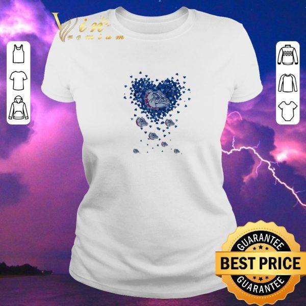 Hot Love Folsom Bulldog tiny hearts shape shirt sweater
