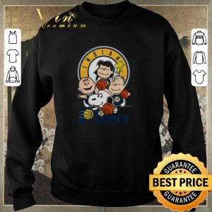 Hot Peanut characters mashup Indiana Pacers shirt sweater 2