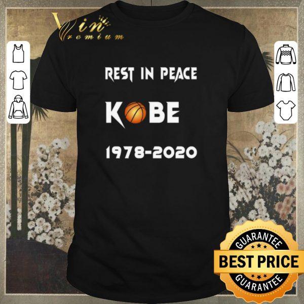 Hot Rest In Peace Kobe Bryant 1978 2020 shirt sweater