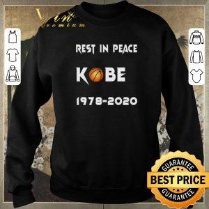 Hot Rest In Peace Kobe Bryant 1978 2020 shirt sweater 2
