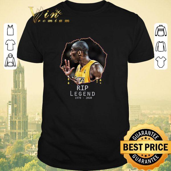Hot Rest In Peace Kobe Bryant R.I.P Legend 1978 2020 shirt sweater