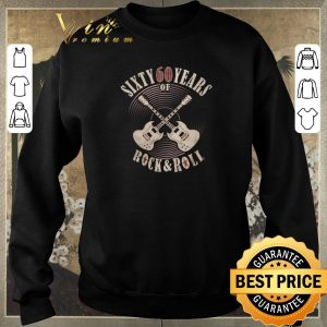 Hot Sixty 60 years of Rock & Roll 60th Birthday shirt sweater 2