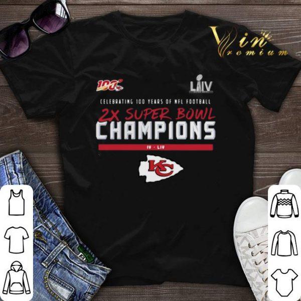 Kansas City Chiefs 2X Super Bowl Champions shirt sweater