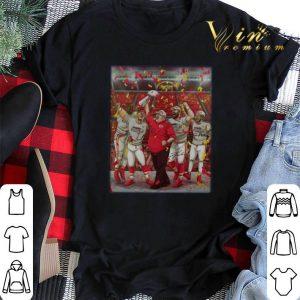 Kansas City Chiefs Andy Reid Super Bowl Champions signatures shirt sweater 1