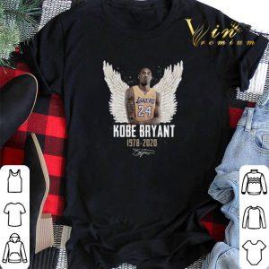 Kobe Bryant Angel 1978 2020 Signature shirt sweater
