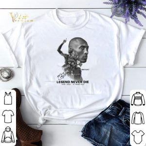 Kobe Gianna Bryant Legend Never Die 2020 41 years old signature shirt sweater